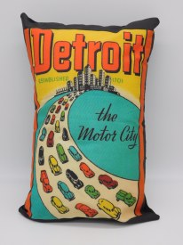 Pillow The Motor City Est 1701