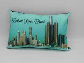 Pillow Detroit River Front