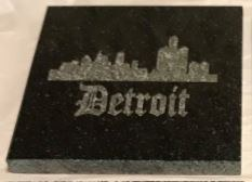 "Granite Coaster 4"" Square"