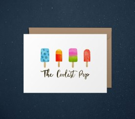 Card Dad Popsicle