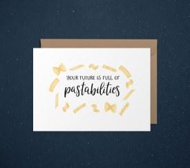 Card Congrats Pasta
