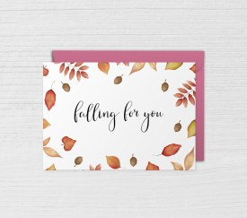 Card Love Falling for You