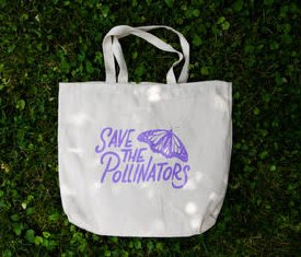 Save The Pollinators Tote Bag