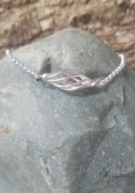 Sterling Orb Bracelet 7.5''