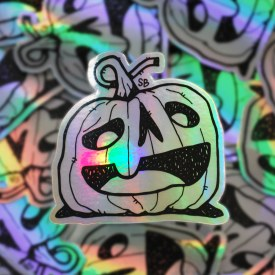 Halo-Ween Sticker
