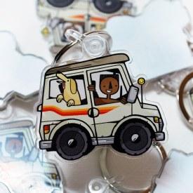 Buggy Buddies Acrylic Keychain