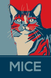 Mice Poster 11in. x17 in.