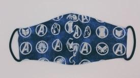 Face Mask Blue Badges