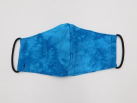 Face Mask Turquoise Tie-dye