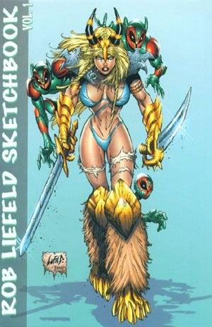 Rob Liefeld Sketchbook - VeryFine +