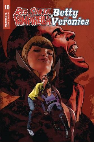 Red Sonja Vampirella Betty Veronica #10 Cvr E Staggs