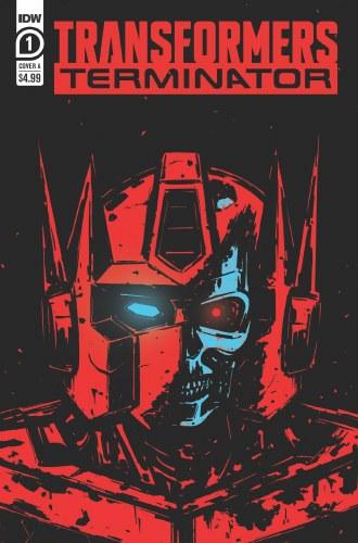 Transformers Vs Terminator #1 Cvr A Fullerton (C: 1-0-0)
