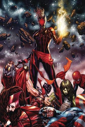 Captain Marvel #12 Csa Exc Var Brooks Sgn (C: 0-1-2)