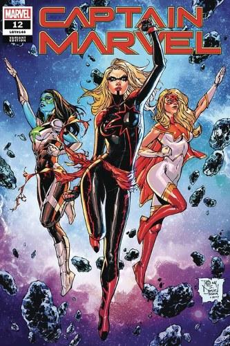Captain Marvel #12 Comicxposure Daniel Exc Var (C: 0-1-2)