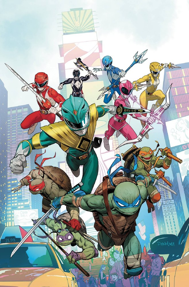 Power Rangers Teenage Mutant Ninja Turtles #1 Cvr A Mora