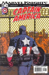 Captain America, Vol. 4 #22 -Very Fine