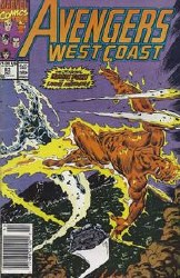 Avengers West Coast, Vol. 2 #63 - Near Mint