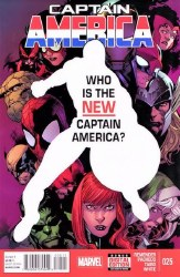 Captain America, Vol. 7 #25A -Fine