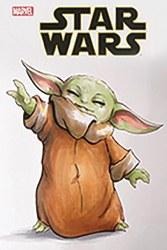 Df Star Wars Comic Baby Yoda Gainey Sketch