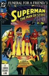 Superman: The Man of Steel #20A
