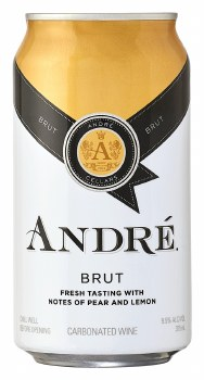 ANDRE BRUT CAN 375ML