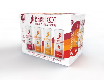BAREFOOT VARIETY SELZTER 12PK CANS