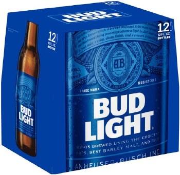BUD LIGHT 12PK BOTTLES