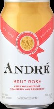 ANDRE BRUT ROSE CAN 375ML