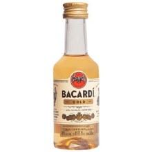 BACARDI GOLD 50ML