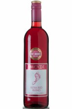 BAREFOOT ROSA RED 750ML
