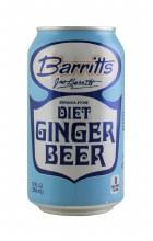 BARRITTS DIET GINGER BEER 4PK