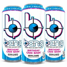 BANG BIRTHDAY CAKE BASH 12OZ CAN