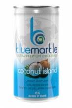 BLUE MARBLE COCONUT ISLAND 4PK