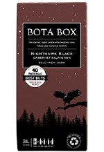 BOTA BOX RED NIGHTHAWK BLACK 3L