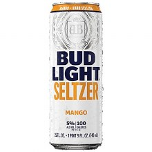 BUD LIGHT MANGO SELTER 24OZ CAN