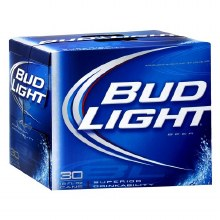 BUDLIGHT 30PK CAN