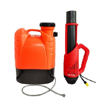 Electrostatic Backpack Sprayer, 12V Battery Powered