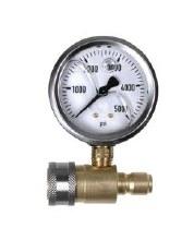 0-5000 PSI Pressure Gauge, Quick Connect Kit