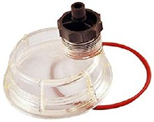 "1/4"" FPT In/Out, Plastic Bowl, Fuel Filter/Water Separator"