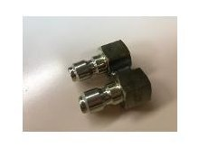 1/4in 2 Nozzle Holder, QC SS