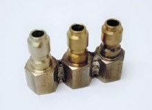 1/4in 3 Nozzle Holder, QC SS