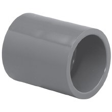 3/4in Socket Coupling, PVC 80