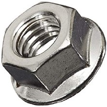 3/8-16in Flange Nut, SS