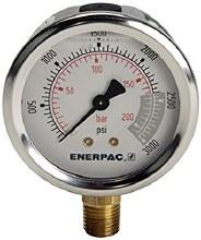 """3000 PSI Temperature Gauge, 50-400 degrees, 1/4"""" MPT"""