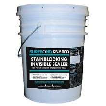 SB-5000, Stain Blocking Invisible Sealer, 5 Gallon Pail