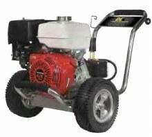 BE 4 GPM @ 4000 PSI Cold Water, Belt Driven, Honda GX390, GP TSS1511 Pump