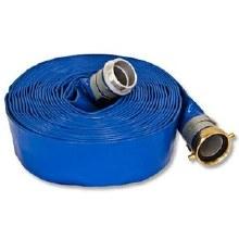 2in x 50ft Blue PVC Layflat Hose