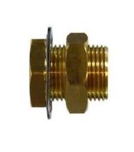 1/4in FPT Bulkhead, Brass