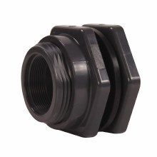 2in Bulkhead Fitting, Poly