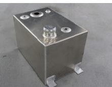 11 Gallon Aluminum Fuel Tank, 18in x 12in x 12in